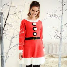 MRS CLAUS KNITTED DRESS (1)